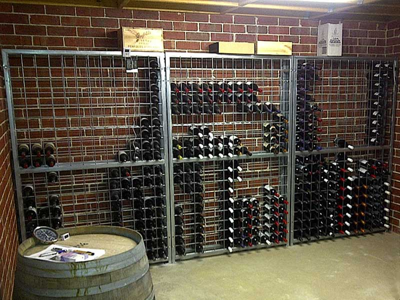 18 high x 12 wide Wine Rack1