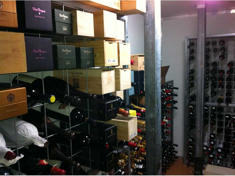 8 high x 6 wide Magnum Wine Rack