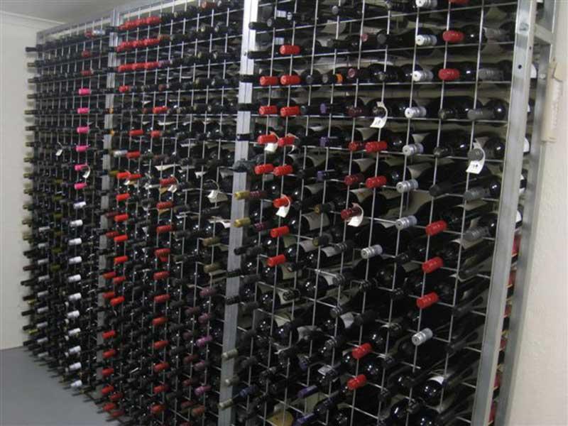 20 high x 10 wide Wine Rack