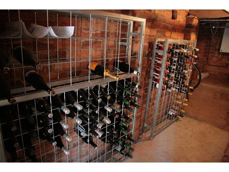 6 high x 8 wide Magnum Wine Rack