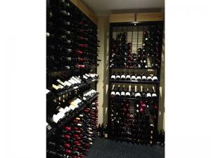 18 high x 9 wide Display Wine Rack
