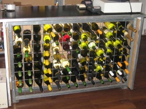9 high x 12 wide Wine Rack