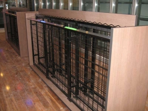 12 high x 9 wide Display Wine Rack