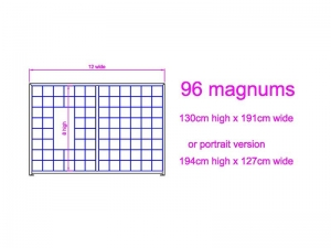 8 high x 12 wide Magnum Wine Rack