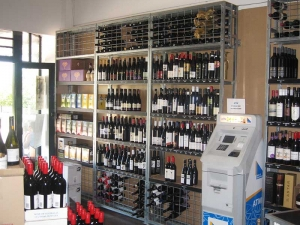 Wine Shelving Units