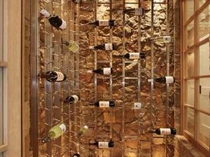 Custom Strip Wine Racks