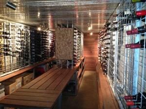 9 high x 24 wide Wine Rack