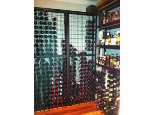24 high x 9 wide Wine Rack